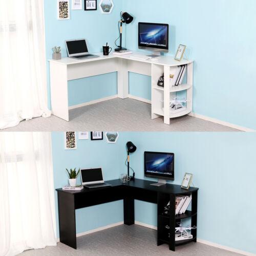 Corner Computer Desk L Shaped Pc, Images Of Corner Computer Desks