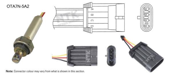NGK NTK Oxygen Lambda Sensor OTA7N-5A2