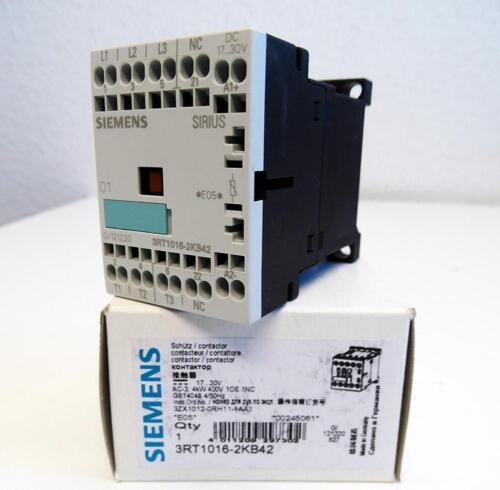 Siemens Sirius 3RT1016-2KB42  3RT1 016-2KB42 E unused//OVP 05 Schütz
