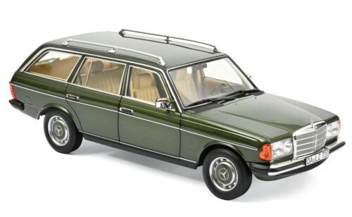 Norev 183730 mercedes-benz 200 T coche familiar 1982 verde metalizado 1:18 nuevo//en el embalaje original