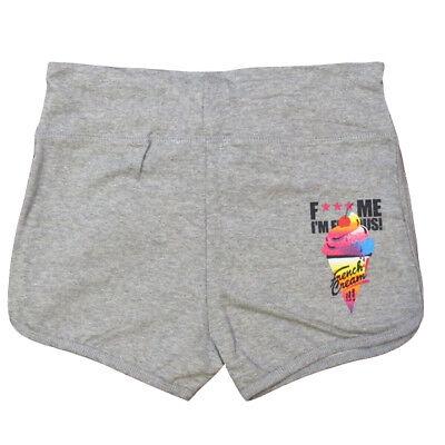 David Guetta F*** Me I/'m Famous Women/'s Shorts French Cream Ibiza GREEN Sports
