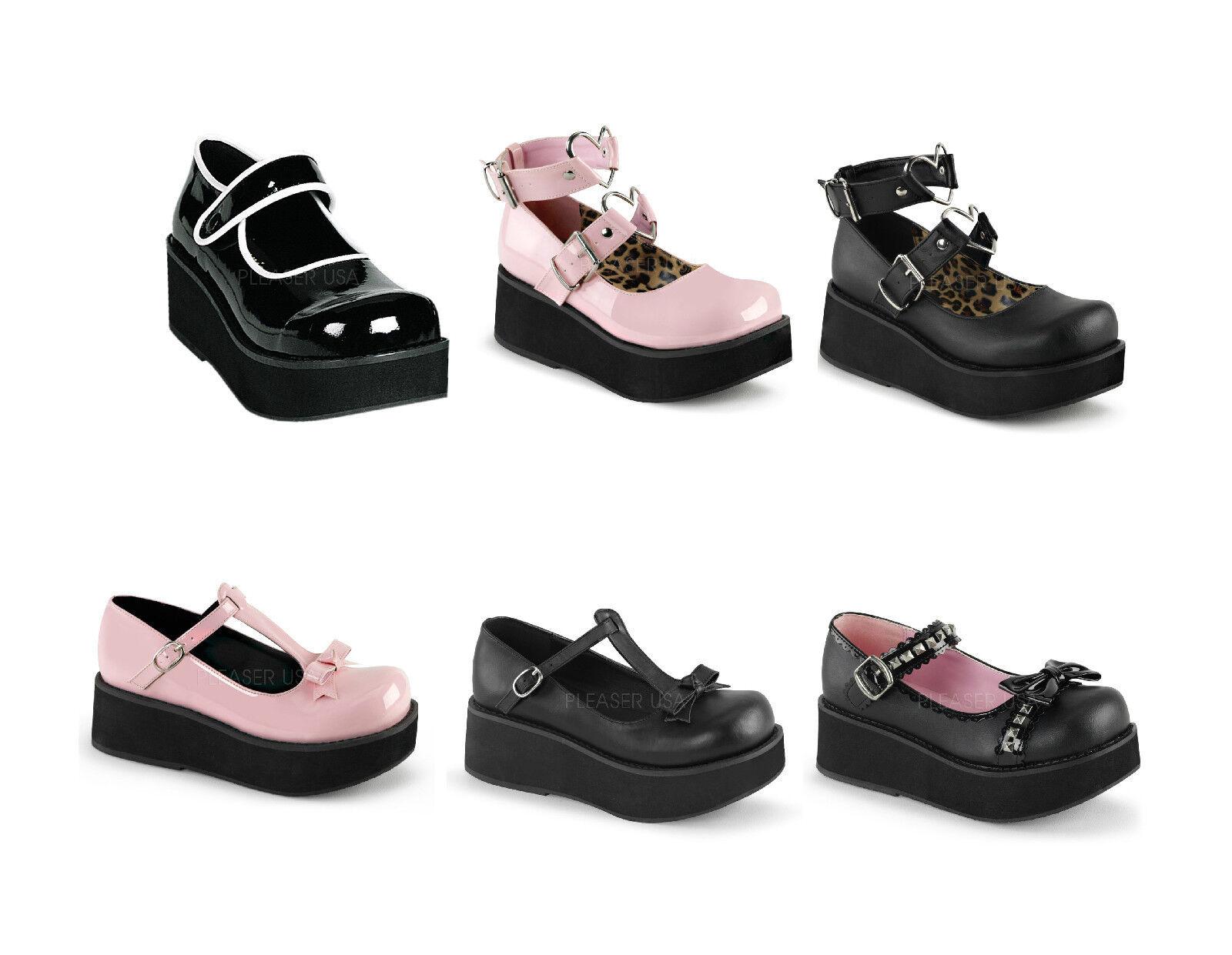 Demonia SPRITE-01 SPRITE-01 SPRITE-01 02 03 04 Women's Platform shoes 801098