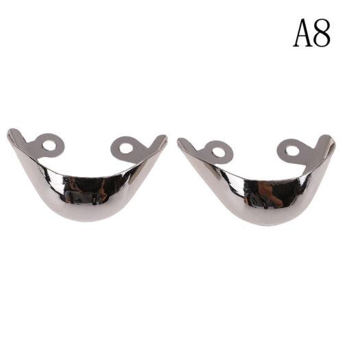1Pair Metal Shoes Toe Protection Shoe Decorations High Heels Repair AccessoriHKG