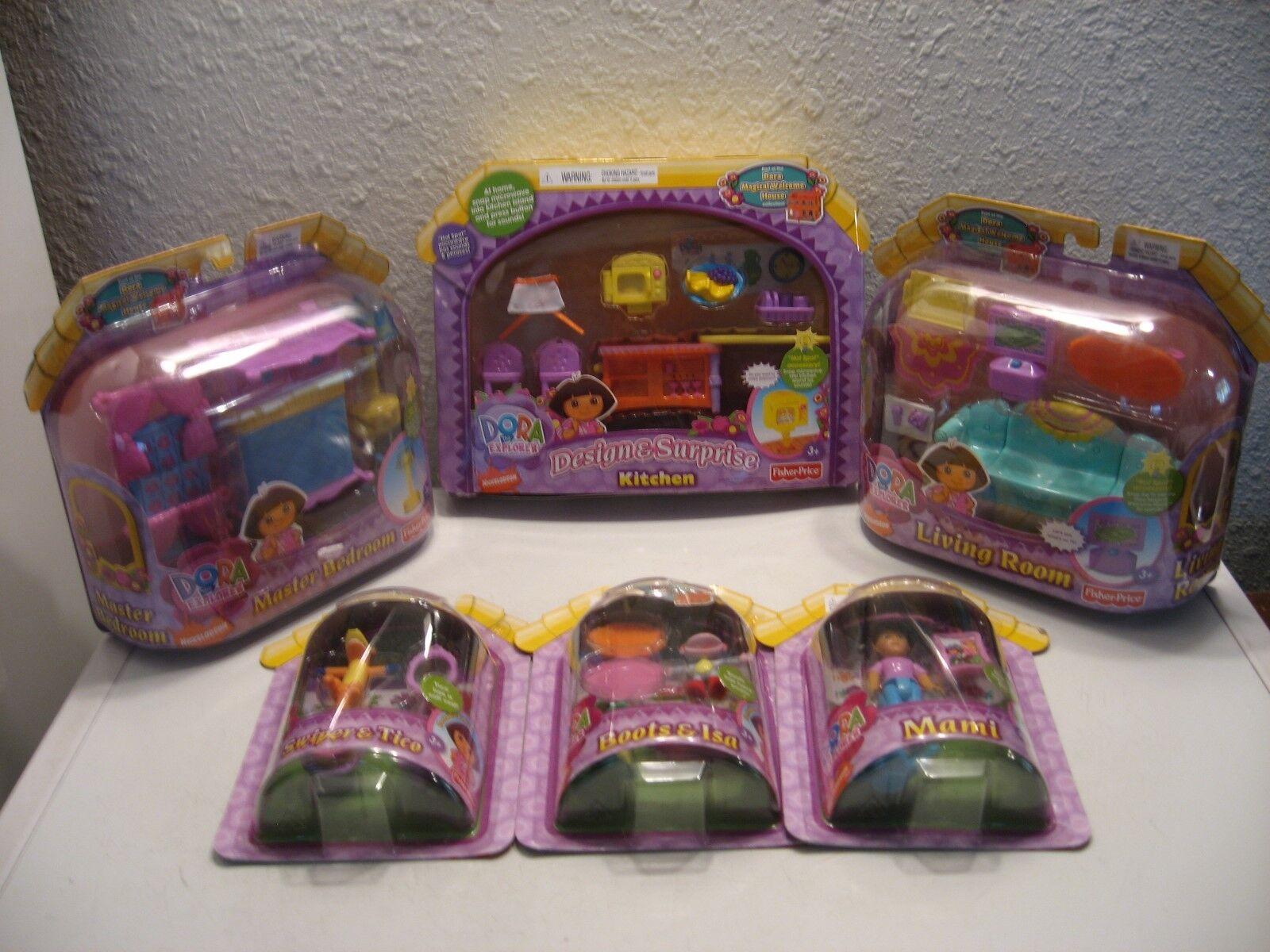 Dora The Explorer Magical habitaciones & figuras muy Welcome House Raro