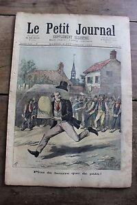 Petit-journal-illustre-N-146-1893-Plus-de-beurre-de-pain-Francois-1er-Charles