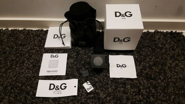 D&G - Touch Screen Digital Watch DW0734 - Black