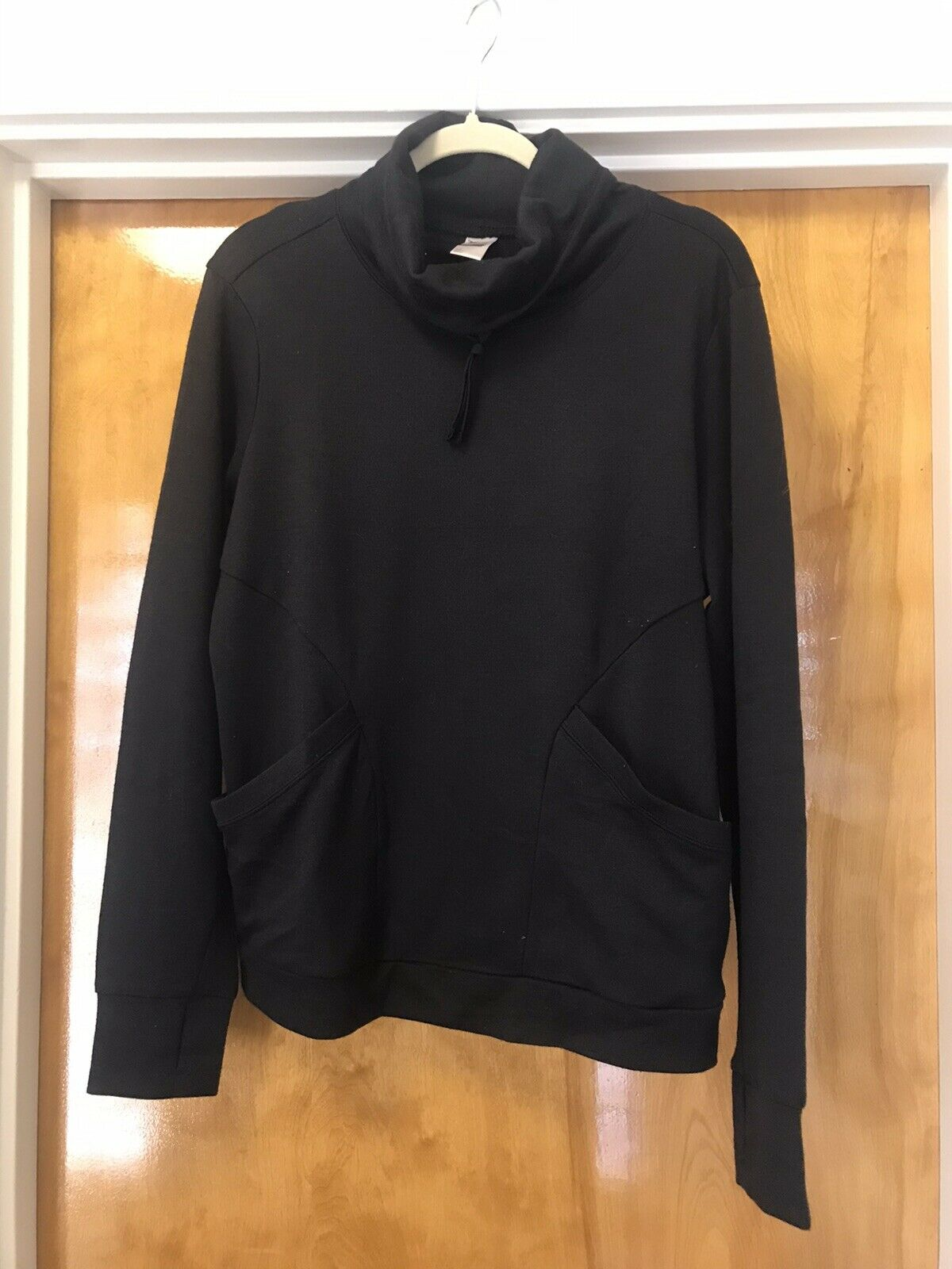 Old Navy Women's Active Funnel Neck Pullover Black Women's Large L