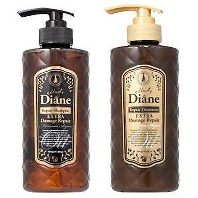 Diane☀Japan-Extra Damage Repair Shampoo & Conditioner 500mL+500mL