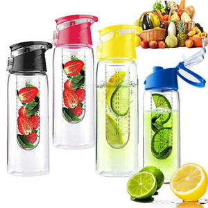 800ML-Deportivo-Fruta-Infusion-Agua-Limon-Juice-Health-Botella-Tapa-Abatible