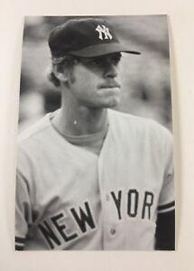 Dave Pagan (1976) New York Yankees Vintage Baseball Postcard NYY
