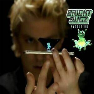 2x 3D Hologram Bright Bee Lights Bugz Magic Toy Evolution Gadgets Blue Light