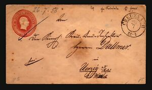 Germany-Early-1g-Stationery-Cover-Used-Z16902