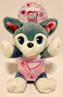 Chi Chi Love & Friends Simba Plüschhund Kuscheltier Husky Kuscheltier Hund Moderater Preis