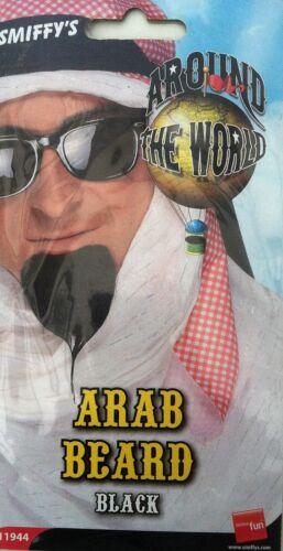 Smiffys Around the World Arab Beard Black