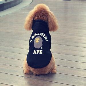 049123fc 2019 Brand New A Bathing APE BAPE Pet Dog Cat Puppy Sweater Hoodie ...