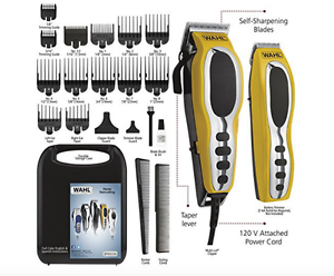 Fade Haircut Home Barber Kit Best Hair Clipper For Men Self System