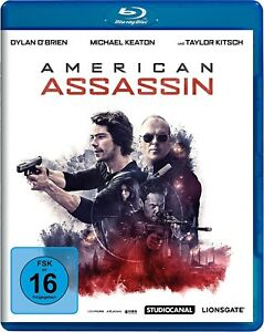 AMERICAN-ASSASSIN-Dylan-O-039-Brien-Michael-Keaton-Blu-ray-Disc-NEU-OVP
