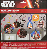 Star Wars Episode Vii Hanging Decorations, Party Supplies Novelty