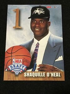 MINT-1992-93-NBA-Hoops-Draft-Redemption-A-Shaquille-Shaq-O-039-Neal-Rookie-RC