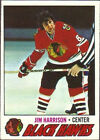 1977 Topps Jim Harrison #243 Hockey Card