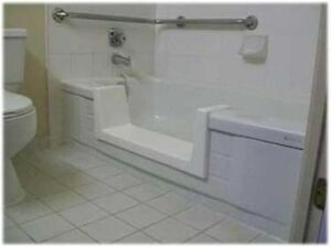 Walk In Bath To Shower Easy Step Thru Insert Diy