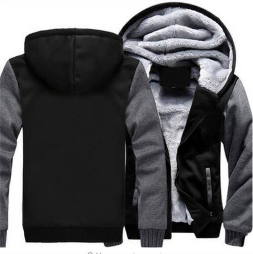 Winter Thicken Hoodie Warm Sweatshirt Carolina Zipper Jacket Coat