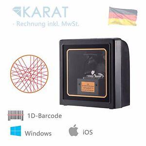 Laser 1d Barcode Tisch Scanner USB Dock Desktop 1530 Für Lager Kasse Büro Labor