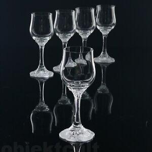 5-Sherry-Suedwein-Trinkglaeser-Rosenthal-Monbijou-Classic-Rose-Kristall