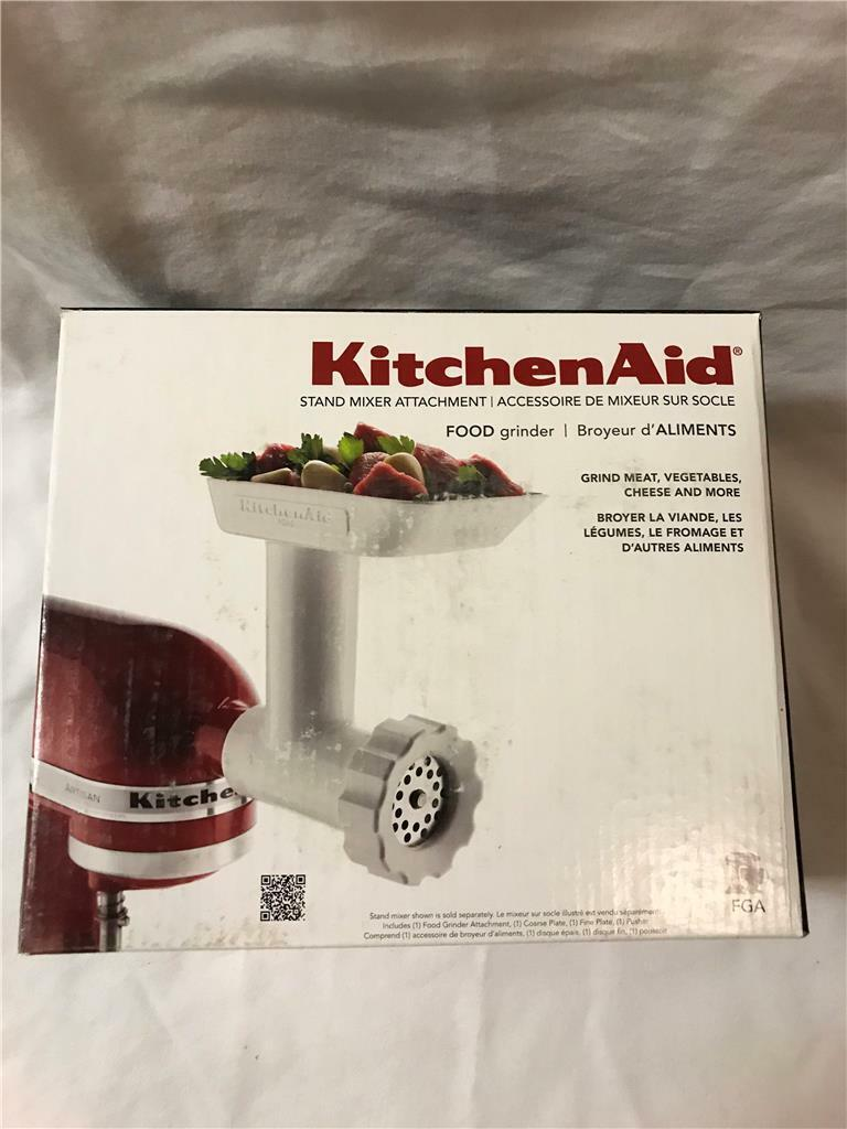 NEW KitchenAid FGA Food Meat Grinder Attachment for Stand Mixer