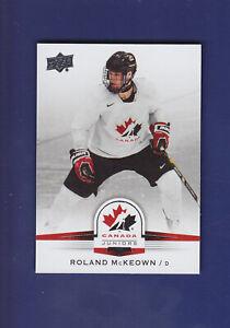 Roland-McKeown-SP-2014-15-UD-Hockey-Team-Canada-Juniors-134