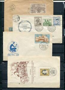 Czechoslovakia-Lot-of-Covers-Lakeshore-Philatelics