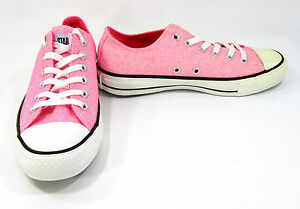 Star Neon Pink Sneakers Men 6 Womens 8