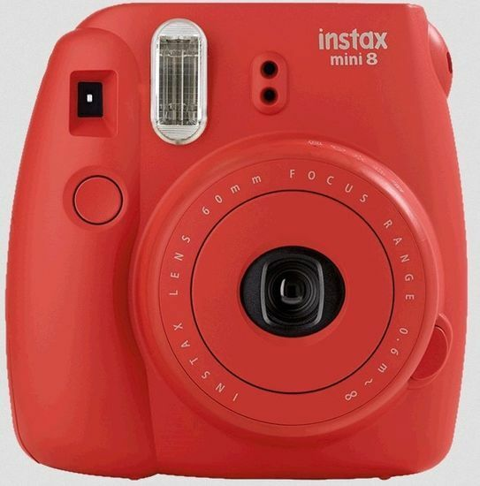 Fujifilm Instax Mini 9 Poppy Rouge Appareil Photo Instantané Inclus 1Film