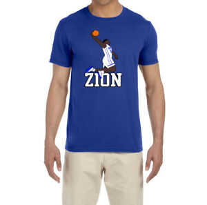 newest collection 04d8c 2dd35 Details about Duke Basketball Zion Williamson Dunking T-shirt