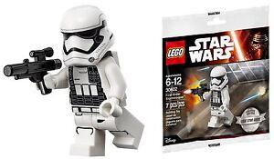 Dettagli su LEGO® Star Wars™ First Order Stormtrooper™ 2016 Exclusive Sealed Poly Bag