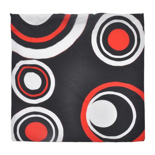 Creative Geometric Fleece Pillow Case Waist Throw Cushion Cover Home Decor