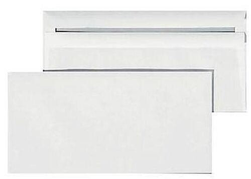 20 selbstklebend Briefumschlag chlorfrei gebleicht DIN lang 1//3 A4 Kouvert #