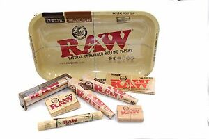 Raw Rolling Paper Tray Bundle Deal 8 Item