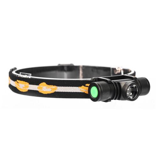 L2LED Headlight Zoomab Head Outdoor Sport Headlamp Camping Fishing Hunt USB ZJHN