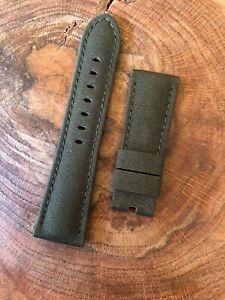 Officine-Panerai-Green-Watch-Strap-26mm-Lug-4-47mm-Luminor-1950-Radiomir-1940