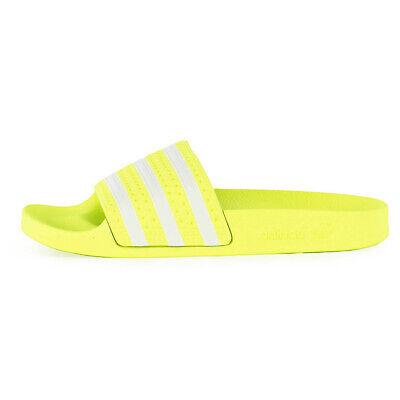 adidas badelatschen damen gelb