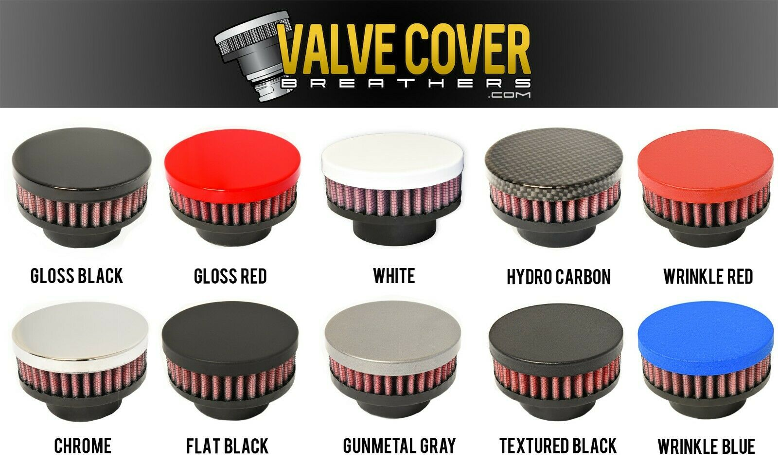 Hydro Carbon CFM Performance 1-0103-6-H Billet Valve Cover Breather Oil Cap 2013-2015 Ford Fusion EcoBoost 2.0