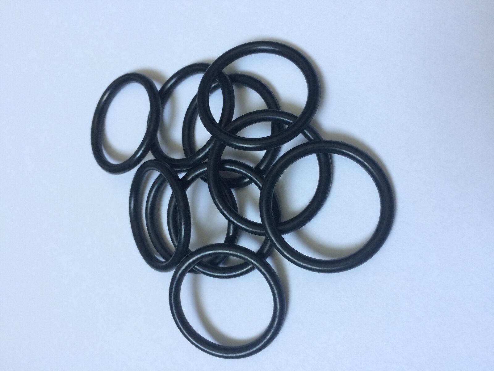 100 Stück O-Ring 25x2,5 mm Schnurstärke NBR 70 Dichtring Ring Nullring
