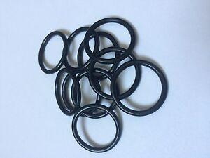 2.4 X 1.9 mm en silicone 70 o/'ring 10x