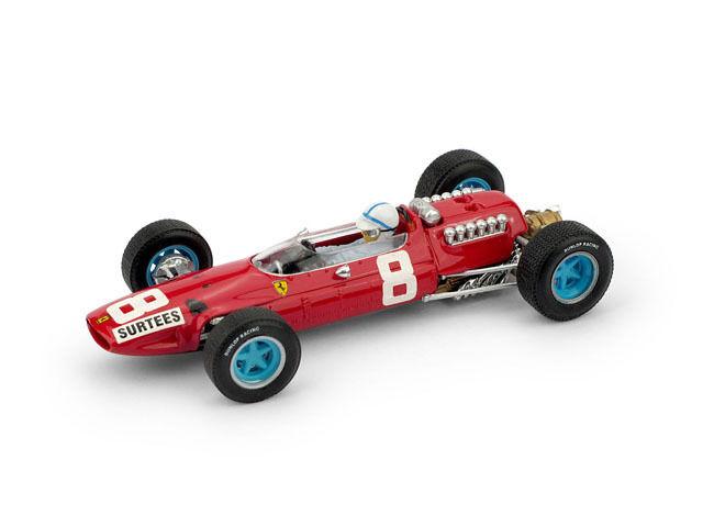 Ferrari 512 F1 J. Surtees 1965 Ret.  GP + Driver Figure 1 43 Model BRUMM