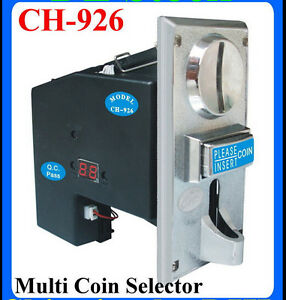 Details about JY-926 Multi Coin Acceptor support 1-6 type of coins for  Vending Machines parts