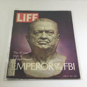 VTG Life Magazine: April 9 1971 - Emperor of the FBI: 47 yr Reign J Edgar Hoover