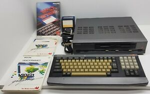 Philips NMS8280 MSX2 Video Computer Tested 100% Original Software Videographics