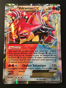Carte Pokemon VOLCANION XY173 Promo Pokebox Holo EX Full Art XY11 Française NEUF