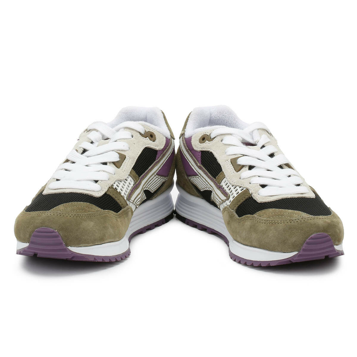 Hi-Tec Hi-Tec Hi-Tec Unisex Trainers Badwater 146 Tan & Black Sport Casual Lace Up shoes 867538